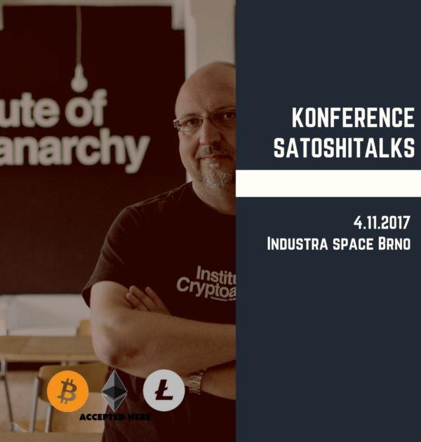 Vstupenka na konferenci SatoshiTalks