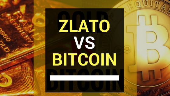Fyzické vs. digitální zlato aneb přichází Bitcoin revoluce