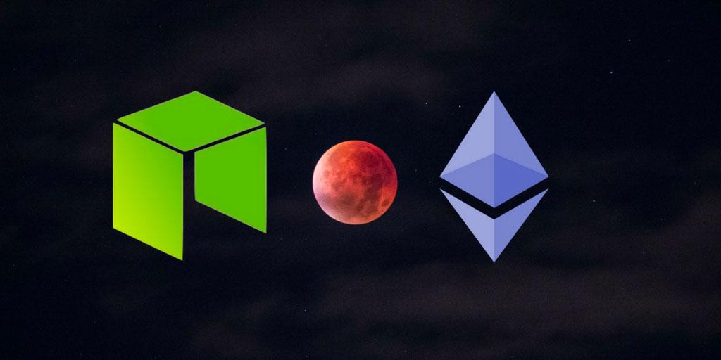 NEO vs. Ethereum, kdo s koho?