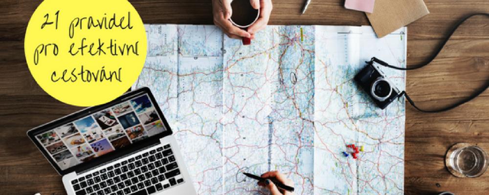 21 cool pravidel pro efektivní cestování