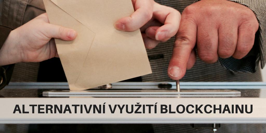 Alternativní využití blockchainu – volby, hodnocení a prevence